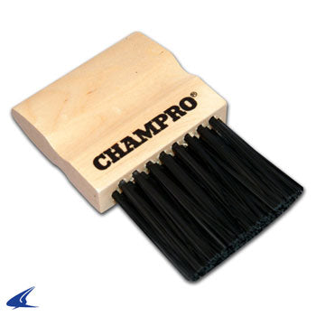 champro sports wooden umpire plate brush a040