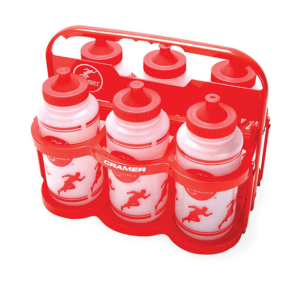 cramer collapsible bottle carrier 6 water bottles 023803