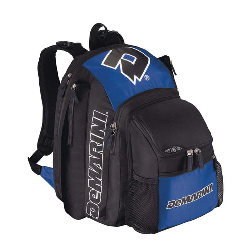 demarini voodoo paradox bat pack backpack wta9401 royal blue black baseball softball