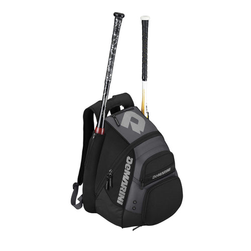 demarini voodoo paradox bat pack backpack wtd9101 black baseball softball