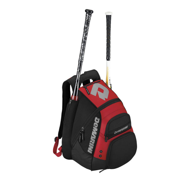 demarini voodoo paradox bat pack backpack wtd9101 scarlet red baseball softball