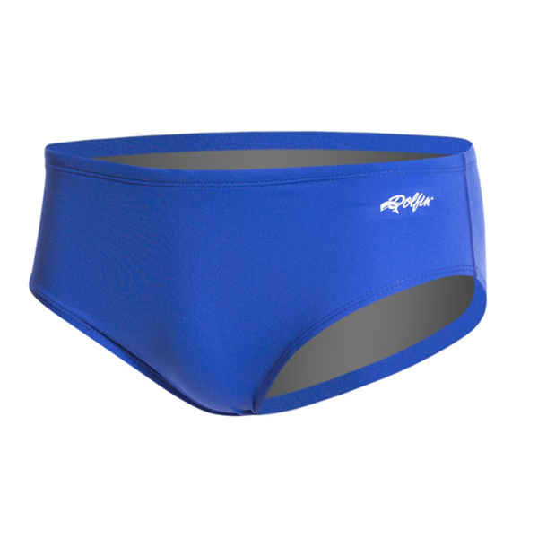 dolfin men's reliance solid racer swimming brief royal blue 7150c men mens racing swim speedo swimsuit