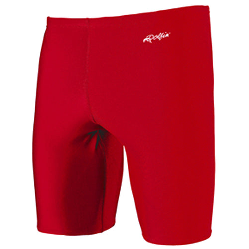 dolfin men's solid jammer swimsuit red scarlet 8700l men mens spandex swimming shorts tight swim short