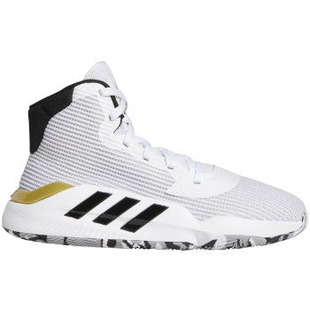 Adidas Pro Bounce 19  White/Black/Met Gold - EE3896