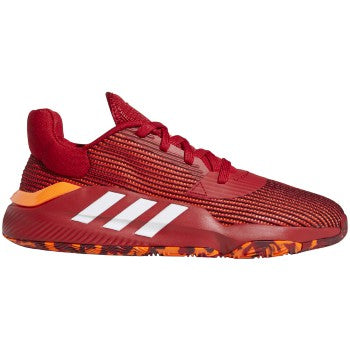 Adidas Pro Bounce Low 2019 - POWER RED/FTWR WHITE/SOLAR ORANGE - EF0471
