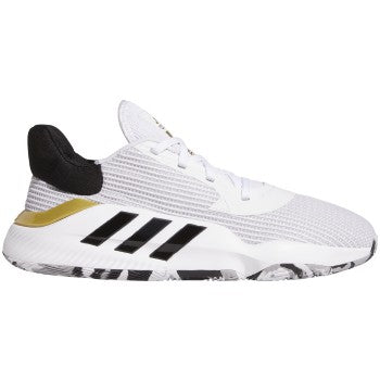 Adidas Pro Bounce Low 2019 - FTWR WHITE/CORE BLACK/GOLD MET. - EF0472