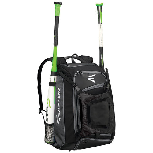 easton walk off walk-off bat pack backpack black a159013 baseball softball
