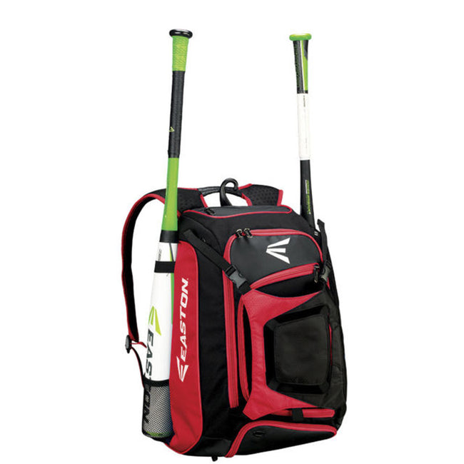 easton walk off walk-off bat pack backpack red black a159013 baseball softball