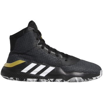Adidas Pro Bounce 19  Black/White/Met Gold - F97282