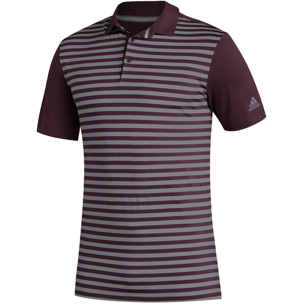 Adidas Ultimate 3-Color Merch Stripe Polo