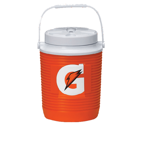 gatorade 1 gallon classic cooler water jug 49015