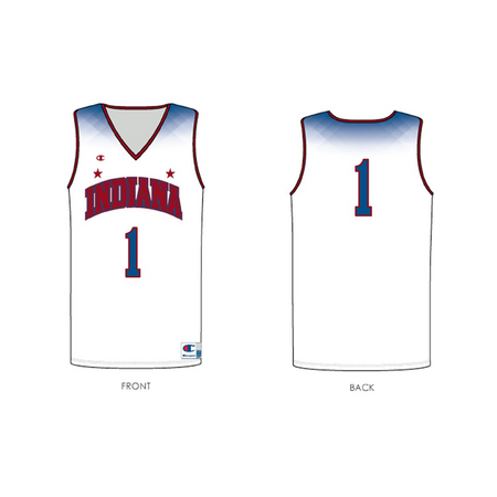 2018 Indiana High School Boys Basketball Replica All-Star Jersey - Youth - U301TY