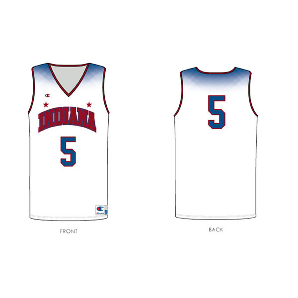 2018 indiana high school boys basketball all star all-star jersey replica youth number 5 sean east