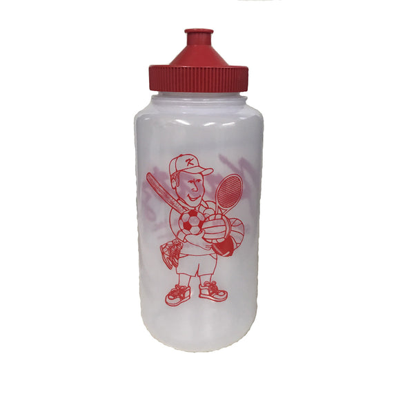 Kratz Sporting Goods 32 oz ounce sport water bottle back