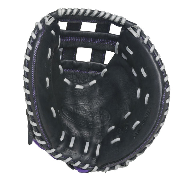 louisville slugger xeno ctm1 fastpitch softball catcher mitt glove fgxnbk6-ctm1 33 inches