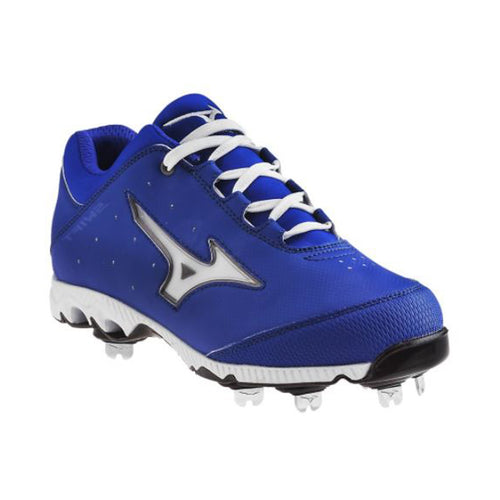 mizuno women's 9-spike swift 3 switch softball cleats royal blue white 320452 sale closeout