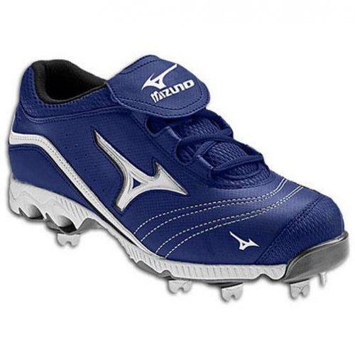 mizuno women's 9-spike swift g2 switch softball cleats royal blue white 320370 sale closeout