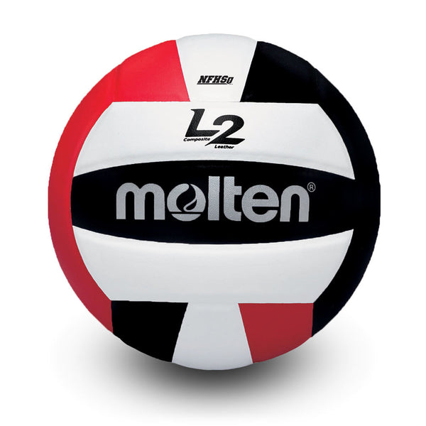 molten l2 L2 volleyball black red white ivu ivu-hs ivu-blkred-hs high school indoor nfhs approved