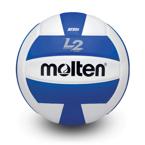 molten l2 L2 volleyball blue white ivu ivu-hs ivu-blu-hs high school indoor nfhs approved