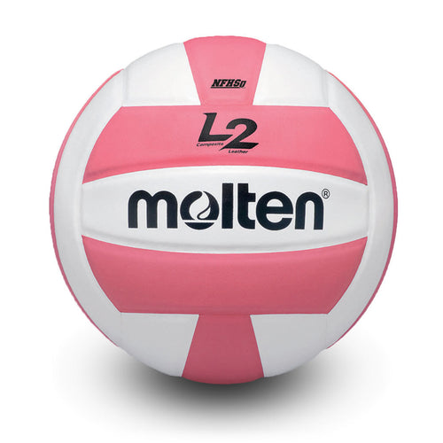 molten l2 L2 volleyball pink white ivu ivu-hs ivu-pnk-hs high school indoor nfhs approved