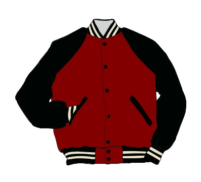New Albany HS Award Jacket - Leather Ragland Sleeve - 5111