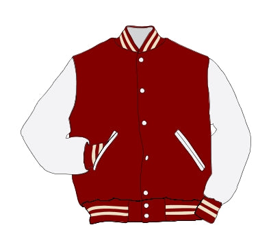 Jeffersonville HS Award Jacket - Leather Set-In Sleeve - 5101