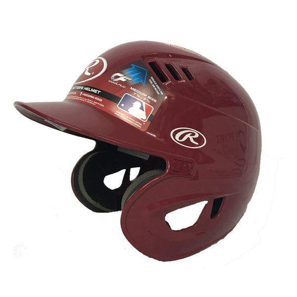 rawlings cfx1amo coolflo xv1 batting helmet cardinal red baseball softball