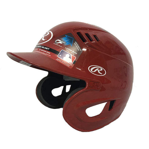 rawlings cfx1amo coolflo xv1 batting helmet scarlet red baseball softball
