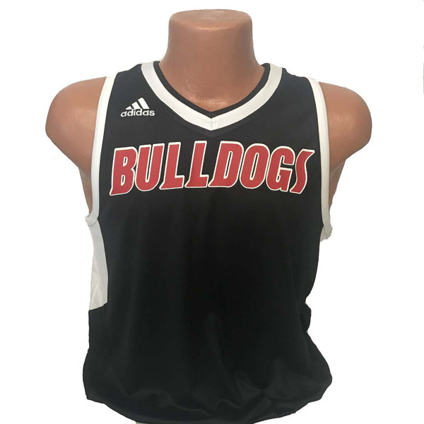 replica new albany high school indiana bulldogs adult adidas basketball jersey black romeo langford