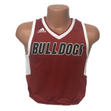 replica new albany high school indiana bulldogs adult adidas basketball jersey red romeo langford
