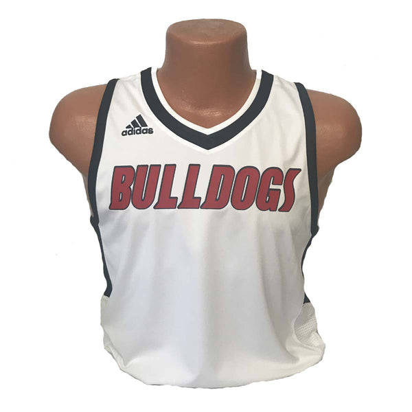 replica new albany high school indiana bulldogs adult adidas basketball jersey white romeo langford
