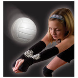 tandem sport volleyball passing sleeves black tspassing youth adult unisex training arm sleeves