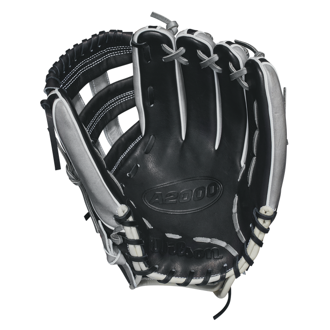 "wilson 2018 a2000 tdfthr 12.25"" outfield baseball glove todd frazier game model wta20rb18tdfthr grey black white red"