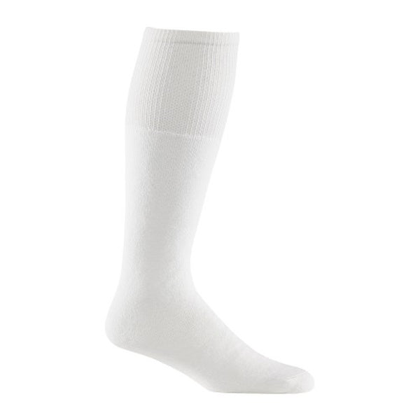 wigwam adult super 60 sport tube sock socks white 6 pack one size osfm osfa s9012