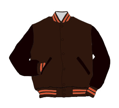 Crawford County HS Award Jacket - Leather Set-In Sleeve - 5101