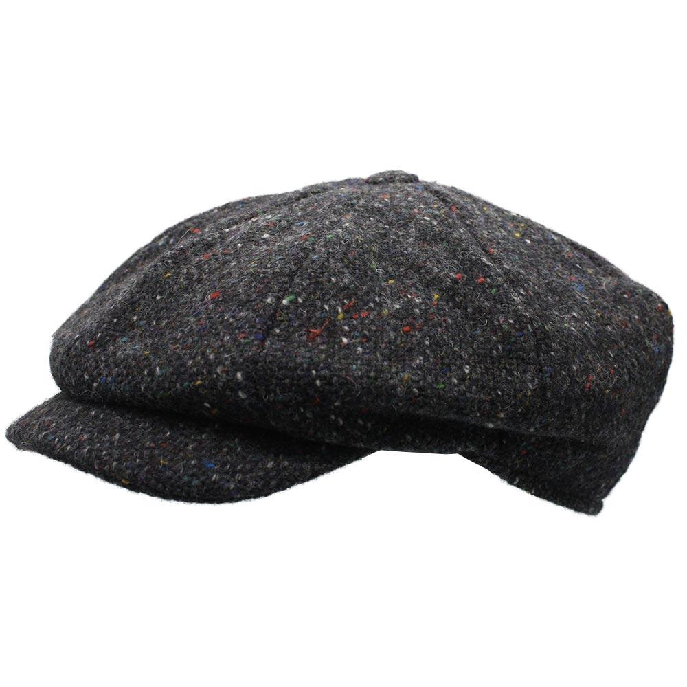 Irish Abbey Tweed Cap with Extended Bill