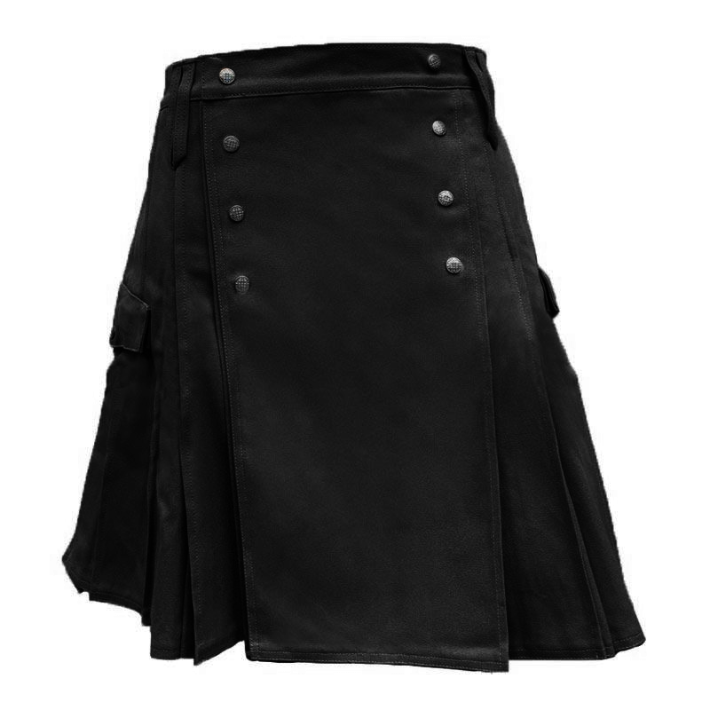 black pub kilt by kiltman kilts