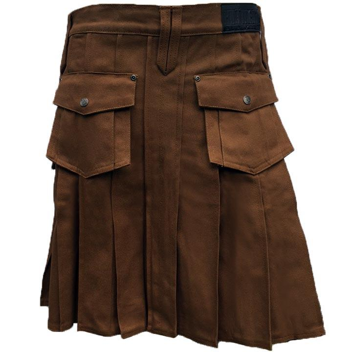 Dark Brown Pub Kilt
