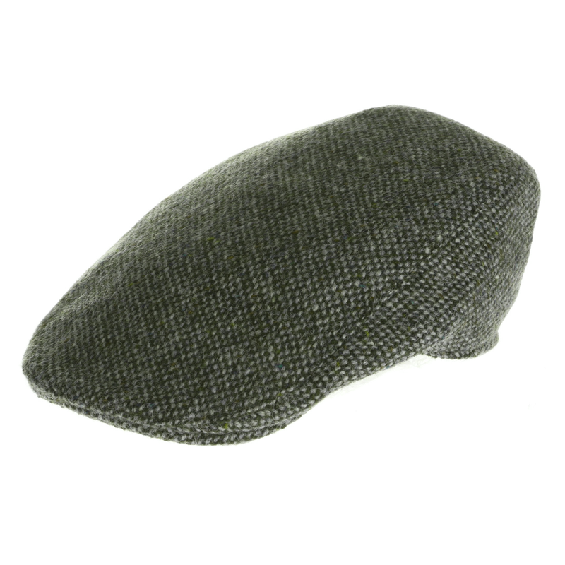 Irish Donegal Tweed Touring Cap