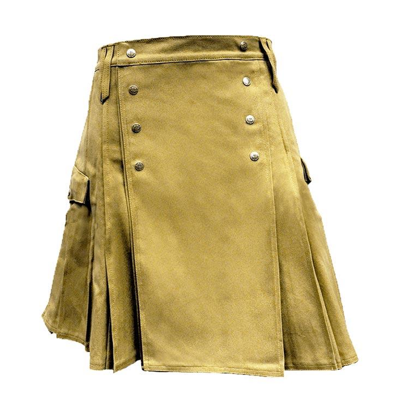 Khaki Pub Kilt - Discontinued Sale