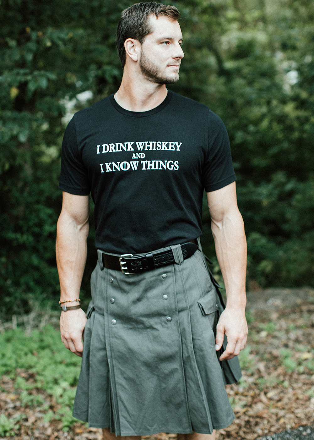 "Men's ""I Drink and I Know Things"" Whiskey Edition T-Shirt"