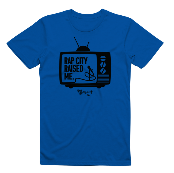 RAPCITYRAISEDME TV - Blue/Blk