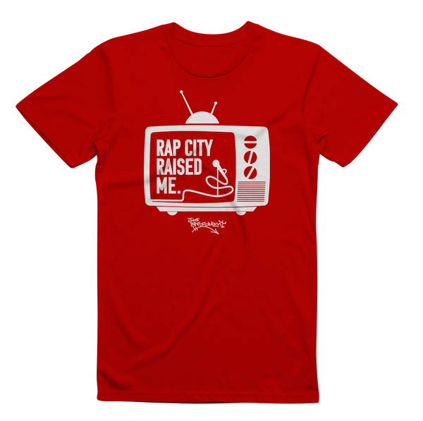 RAPCITYRAISEDME TV - Red/Wht