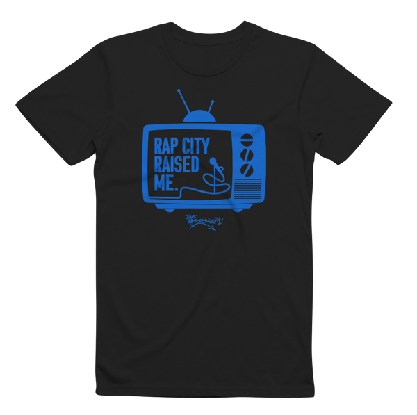RAPCITYRAISEDME TV - Blk/Blue