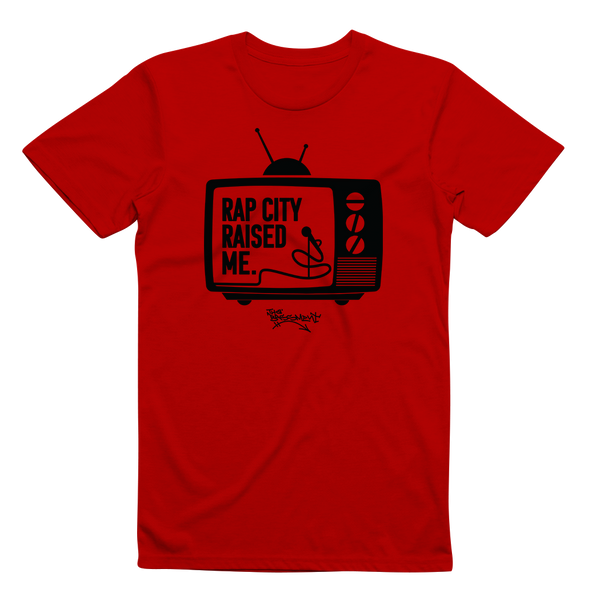 RAPCITYRAISEDME TV - Red/Blk