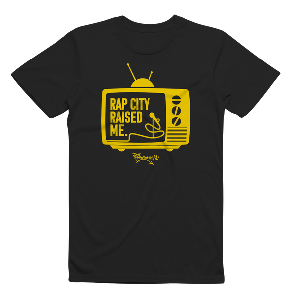 RAPCITYRAISEDME TV - Blk/Gold