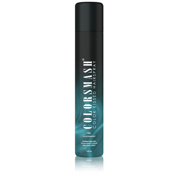TEAL COLOR KISSED HAIRSPRAY
