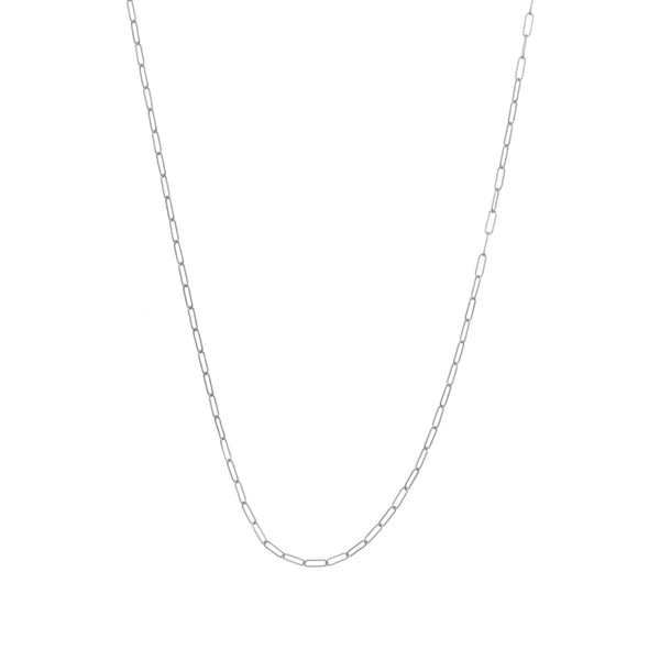 Sterling Silver JuJu Flat Link Adjustable Chain