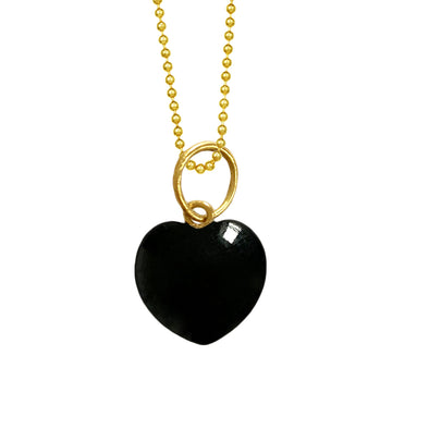 Onyx Heart for Strength, no bezel