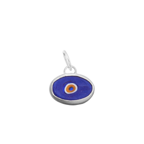 Protection Juju Eyeball in Sterling Silver (more colors!)
